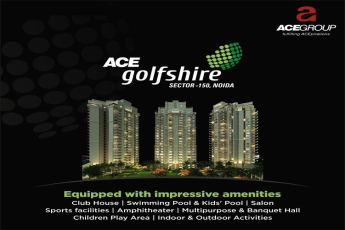 Live in homes equipped with impressive amenities at Ace Golf Shire in Noida